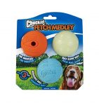 Chuckit! Medley labda medium 6,5 cm set 3 db