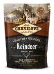 CarniLove Reindeer for Adult Rénszarvas 1,5 kg