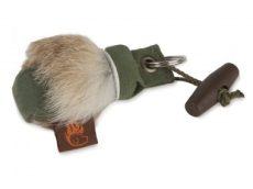 FIREDOG® Keychain Mini Dummy Kulcstartó Szőr rátéttel 2 szín