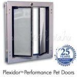 PlexiDor® beépíthető kutya- és macskaajtó M