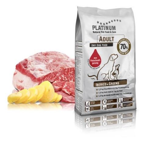 PLATINUM NATURAL Adult Iberico + Greens 1,5 kg